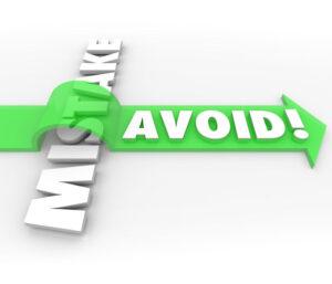 Avoid Mistake Arrow Over Word Prevent Problem Error